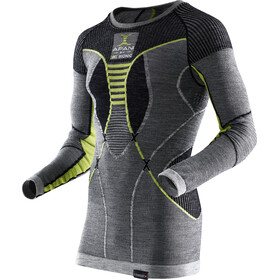 X-Bionic Apani Merino By Fastflow - Ropa interior Hombre - amarillo/gris